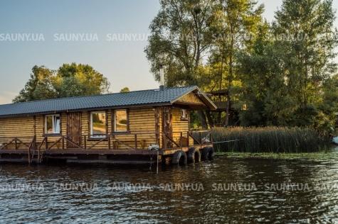 Баня на воде «Чудо Баня» Киев, Гидропарк
